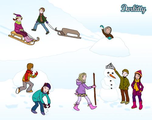 Les Saisons - Page 12 Jeux-neige2